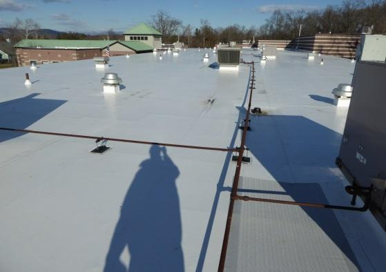 Vanguard Commercial Roof Replacement EPDM to PVC Roofing