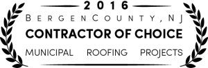 Bergen County New Jersey Roofing Contractor of Choice, Municipal Roofing Projects