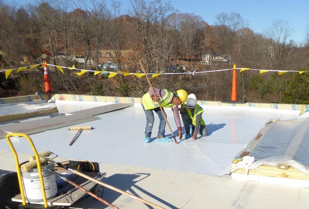Vanguard Flat roof replacement 2