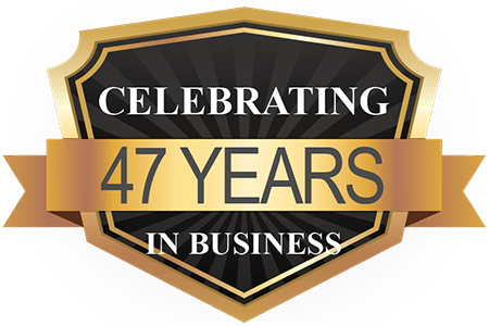 47 Years Serving Our Customers