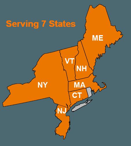 Serving 7 States
