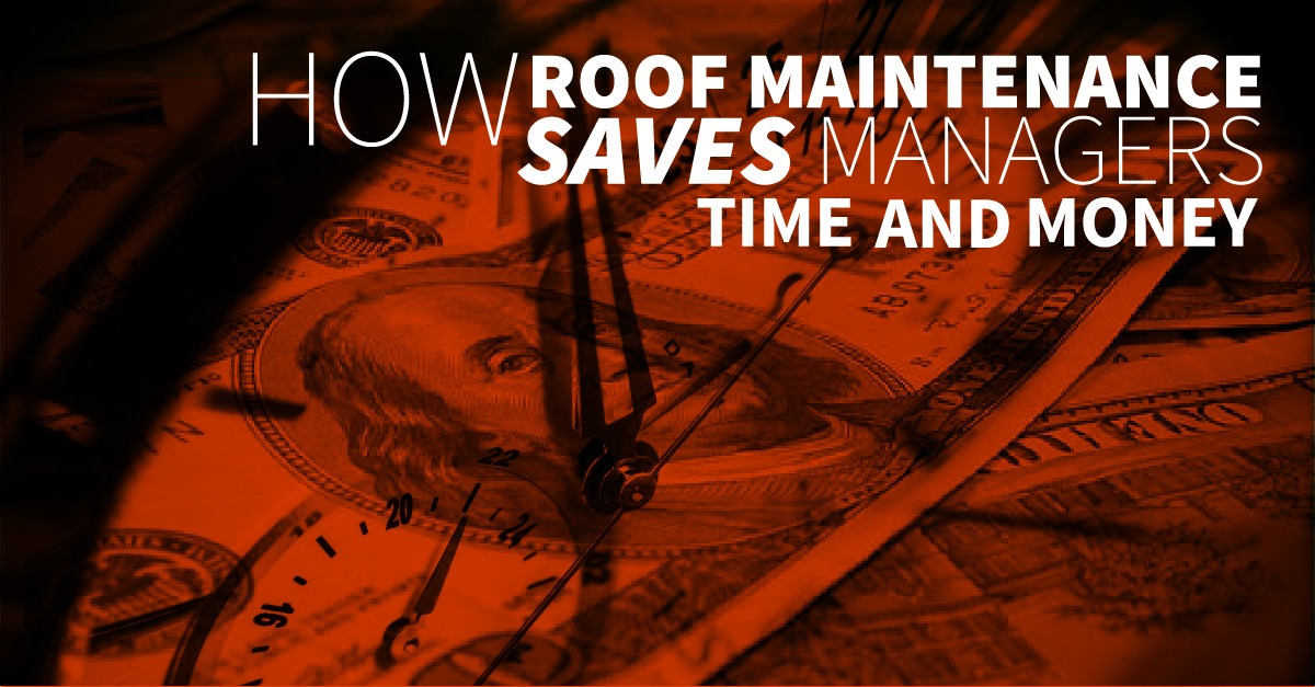 Roof Maintenance with Vanguard Saves Time and Money