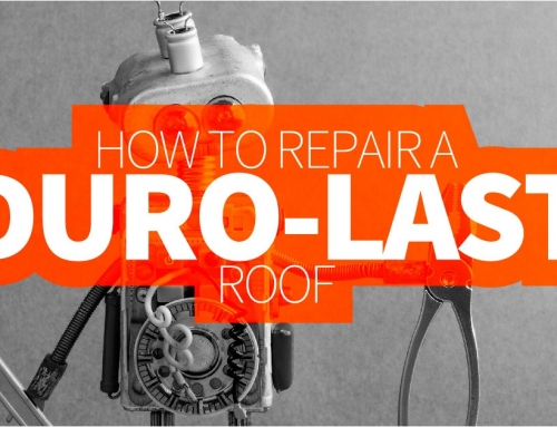 How To Repair A Duro-Last Roof