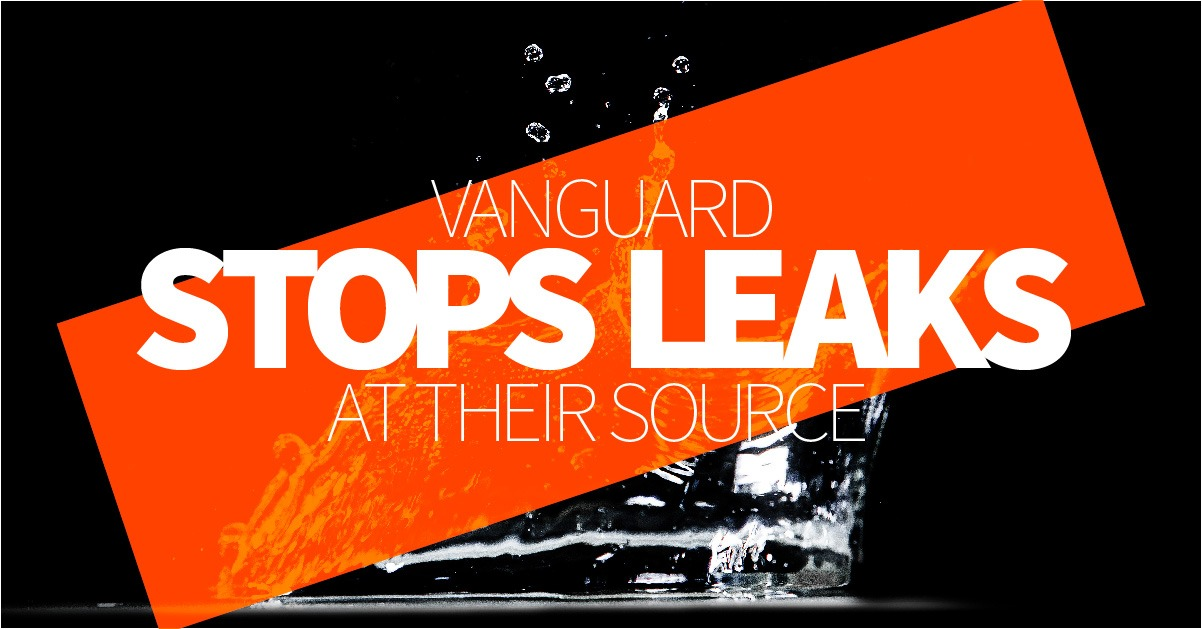 Vanguard Stops Leaks At Their Source