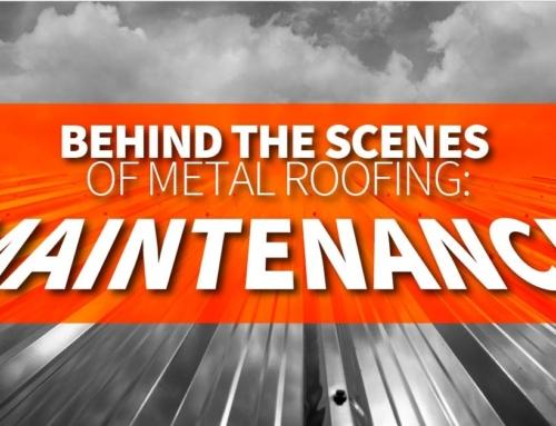 Behind The Scenes Of Metal Roofing: Maintenance