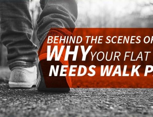 Behind The Scenes Of Why Your Flat Roof Needs Walk Pads