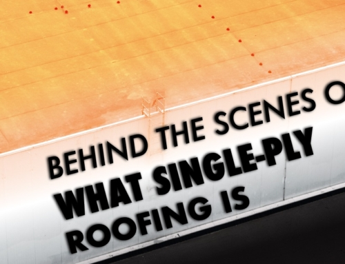 Behind The Scenes Of What Single-Ply Roofing Is