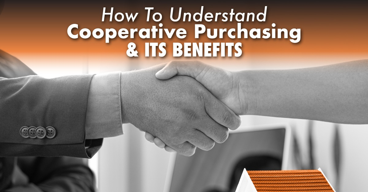hands shaking in agreement with the caption How To Understand Cooperative Purchasing And Its Benefits